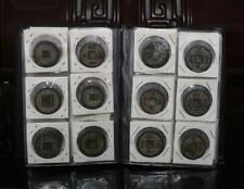 Collect Chinese Bronze 15pc Coin China Old Dynasty Antique Currency Cash Outstanding Features Antiques Asian Antiques