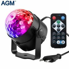 Led Disco Light Stage Lights DJ Disco Ball Lumiere Sound Activated