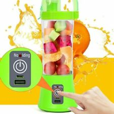 Portable Personal Blender Fruit Juicer Mixer Rechargeable Cordless USB Power