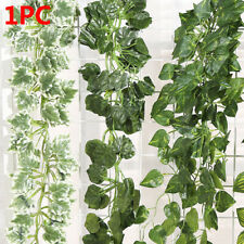 Real Touch Wall Hanging Fake Foliage Vine Artificial Ivy Leaves Garland Plants