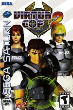 Virtua Cop 2 Sega Saturn Box Art Poster Multiple Sizes 11x17-24x36