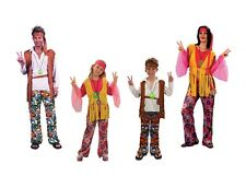 HIPPY COSTUME FANCY DRESS HIPPIE ALL GENDER ALL AGES