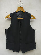Black Formal Waistcoat by Tails and the Unexpected - 100% British Wool