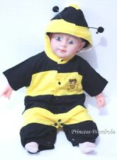 Baby Infant Yellow Bumble Bee Halloween Costume NB-18M