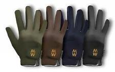 MacWet Climatec Short Gloves for Riding, Clay Shooting