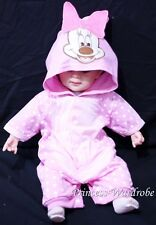 Baby Pink Minnie Toddler Outfit Halloween Present Costume Girl Romper NB-18M