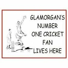 A1745 GLAMORGAN'S NO. 1 CRICKET FAN KEYRING BOTTLE OPENER OR MAGNET