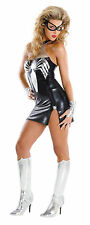 Black Suit Spider-Girl Spider-Man Marvel Super Hero Sexy Halloween Adult Costume