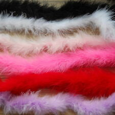 MARABOU STRING (SWANSDOWN) BEST QUALITY X 1M - CHOOSE YOUR COLOUR