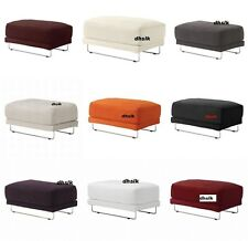 IKEA TYLOSAND Footstool COVER Slipcover REPHULT EVEROD Kungsvik ALL COLORS