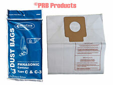 Panasonic Tank Style C C3 Vacuum Cleaner Bag MC-125P Model MC771 772 872 8320