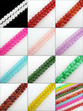 4mm,6mm,8mm,10mm,12mm Jelly 11Colors-1 Or Mixed Glass Spacer Beads R414
