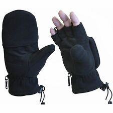 Military Army Marines Sniper Shooting Gloves Mittens - Black - FREE SHIPPING