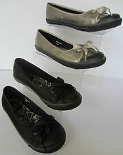 Angry Angels Back To School Pumps/Shoes - Diva - Black or Pewter