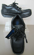 Gass 43 Back To School - Black  - Leather Lace Up