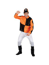 Adult Jumpin' Jockey Horse Racing Derby Day Fancy Dress Costume