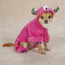 Dog MONSTER PAWS Halloween Costume Pet Clothes One Eye XS S M L XL   BLUE PINK