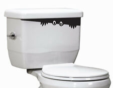 Toilet Monster Bathroom Vinyl Sticker Wall Car Art Decal made in USA