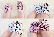 Cute Damask Infant Baby Girl feet 1PC Toddler Barefoot Blooms Ring Sandals Shoes
