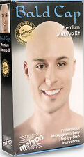 Mehron Bald Cap Make Up Kit Professional Bald Kit Instructions Included KMP-BC
