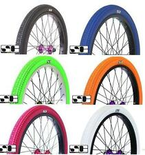 "SAVAGE BMX BIKE 20 "" FREESTYLE TYRES. 20""X 2.125 CHOICE OF 6 COLOURS. SVTY001.."