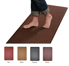 "Contemporary Indoor Cushion Kitchen Rug Anti-Fatigue Floor Mat -Actual 24"" x 36"""