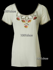new RRP$170 WITCHERY WHITE 100% SILK BLOUSE TOP