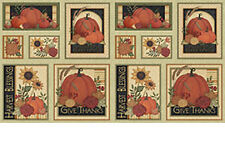 Give Thanks Quilt Fabric By The Yard Plus Panel