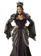 Sexy Adult Halloween Outfit Wicked Evil Queen Costume