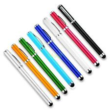 8 Colors Capacitive Touch Screen Stylus Ballpoint Pen For iPad iPhone 4 4S 3GS