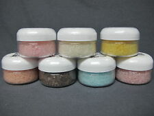 BATH SALTS Natural Sea Salt YOUR SCENT CHOICE 2 oz Sample Rejuvenate Heal Relax