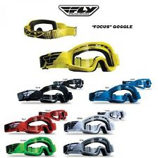 FLY RACING FOCUS MX Dirt Bike Honda Kawasaki Suzuki Yamaha Googles