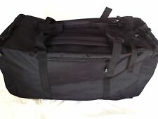 Military Army Navy Style Duffle Duffel Bag Back Pack with Shoulder Straps