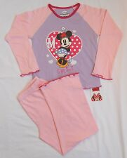 BNWT Official Disney *Minnie Mouse* Pyjamas. Age 3-4, 5-6, 7-8, 9-10 Years