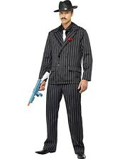 Mens Zoot Suit Gangster Costume Al Capone Smiffys Fancy Dress