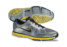 Nike LUNAR ASCEND Men's Golf Shoes - GREY/SILVER/BLACK