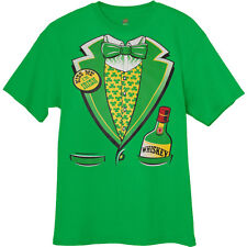 St Patricks Day Tuxedo T-shirt Irish Ireland funny st pattys drunk tux tee shirt