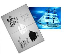 Step by Step Airbrush Stencil AS-043 ~ Template ~ UMR-Design