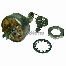 IGNITION STARTER SWITCH w/2 keys fit NOMA DEERE SIMPLICITY TORO TROY BILT +MORE