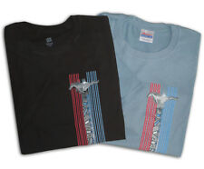 2 pack Ford T-shirts Ford Mustang stripe pony design short sleeve tee shirt