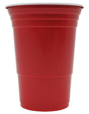 RED CUPS Rote Becher Trinkbecher 16 oz Redcups Party Becher Bier Beer Pong