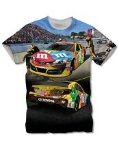 Kyle Busch The Game #18 M&M's SCENE Tee FREE SHIP!