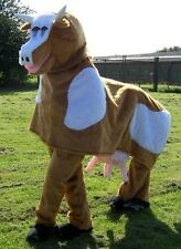 Hire a Pantomime Cow Costume - Brown/White