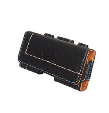 Premium Quality Leather Cover Pouch Clip for Alltel ATT Boost Mobile Phones