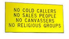 Engraved Laminate Plastic Sign Choose Your Own Wording 200mm x 200mm From Melian