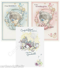 Me To You Tatty Teddy - Birth of a Grandson or Granddaughter Card