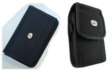 Vertical + Horizontal Case Clip Pouch for Boost Mobile Consumer Cellular Phones