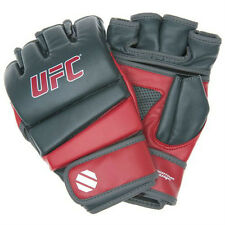 UFC MMA Practice Gloves (Red/Gray)  mixed martial arts training c148085p