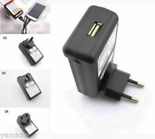 USB External Battery Wall Travel Charger For Samsung Galaxy S4 Y Ace Nexus i939