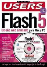 Macromedia Flash 5 Manual del Usuario con CD-ROM: Manuales Users, en Espanol /..